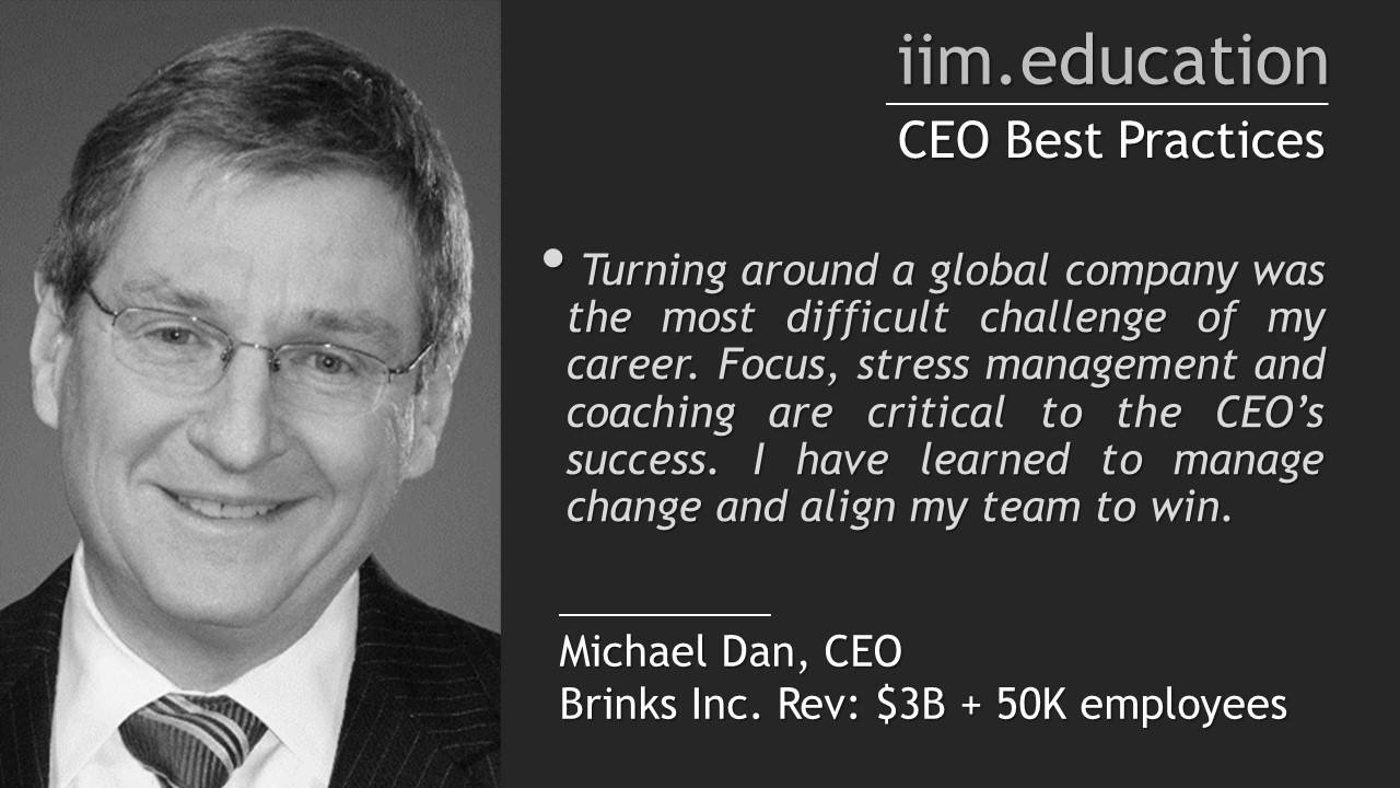 Executive Education: CEO Best Practices Seminars and Senior Management Training Courses
